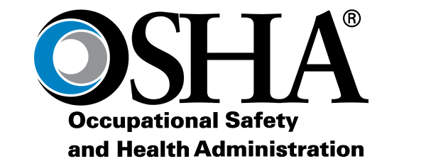 OSHA logo: Occupational Safety and Health Administration